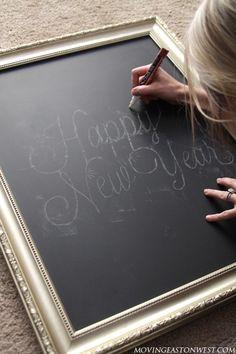 DIY: Chalkboard Art