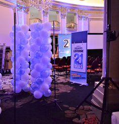 Columnas de globos, evento empresarial. Montevideo-Uruguay by Multifiesta