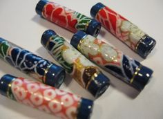 How To Make Fancy paper beads pdf tutorial