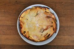 Apple Ginger Dutch Baby Pancake