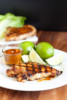 Grilled Honey Lime Chicken - Cooking Classy