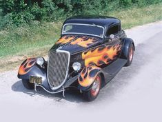 whats a hot rod without the flames?