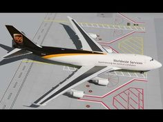 GEMINI200 Ups 747-400F 1/200 by DARON WORLDWIDE. $92.80. High quality die-cast metal model with all the extra details in 1/200 scale