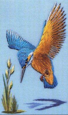 Lovely kingfisher by Helen Stevens
