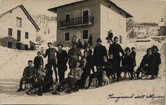 gruppo di alcuni insegnanti dell'Altipiano in località Folgaria Insegnanti dell'Altipiano; anni '20   #TuscanyAgriturismoGiratola