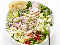 Mexican Chicken Salad Recipe : Food Network Kitchen : Food Network