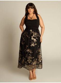 plus size plus size beaded dress