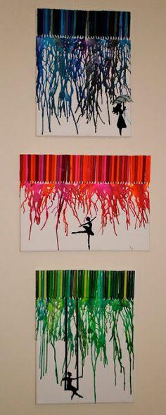 Artful Expression: Crayon Art