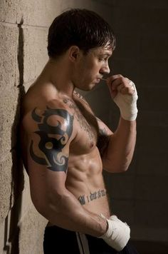 It's ridiculous how much I love Tom Hardy.  He is brilliant in Warrior and basically every movie he has ever been in.
