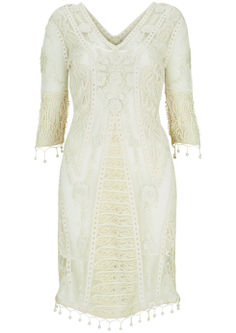 Nordstrom Exclusive Crochet Lace Midi, $290: Kate Moss for Topshop | Boca Raton Magazine