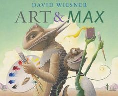 Art & Max  {{Wordless Book}}