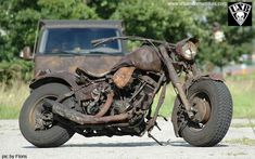 Rat bike. Rusted to perfection