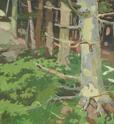 """Woods and Rocks,"" F"