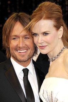 Keith Urban and the Mrs. ... Nicole Kidman