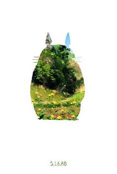 My Neighbor Totoro Teaser Poster by ~meimicat on deviantART