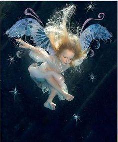 Fairy baby.