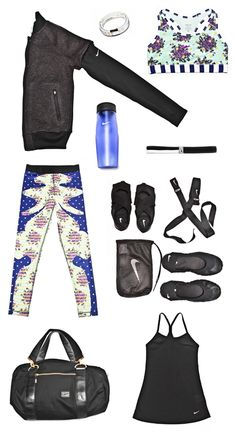 Kelly Rowland's favorite gym look for spring. #training #gear #nike #runningstyle