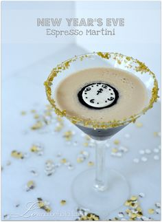 eve cocktail, espresso martini, drink, martinis, new years eve