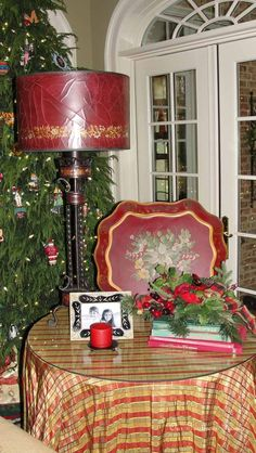 Our Southern Home: Family Room {Christmas Tour}