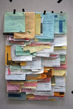 receipt collection