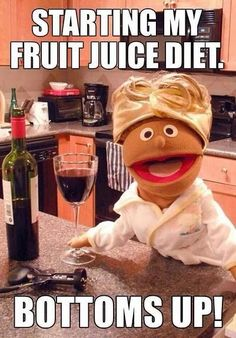 Fruit juice diet #wine