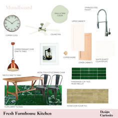 fresh farmhouse kitc