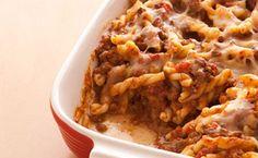 Epicure's Taco Meatloaf Pasta Casserole    Featuring: Epicure's Seasoning for Meatloaf, Epicure's Beef Bouillon and Epicure's Taco Seasoning
