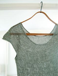 DIY: silken straw summer sweater
