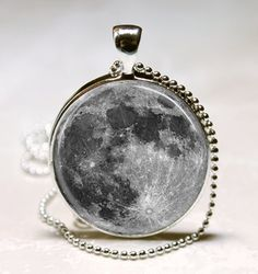 outer space art, jewelri weep, balls, pendants, chains, doctor who, angel necklac, necklaces, moon necklac