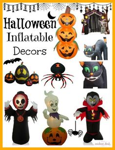 Add some spooky decor this Halloween. Save big on Halloween Inflatable Decorations.