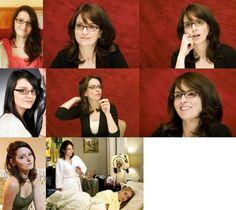 @idatezombies: @nbc30rock #30Rockelganger I get told I look like Tina Fey every single day of my life. Glasses, no glasses. Always.