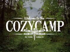 Cozy Camp RV Park | Branding by Jeremy Buzek (Houston, TX)