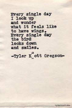 Typewriter Series #548by Tyler Knott Gregson