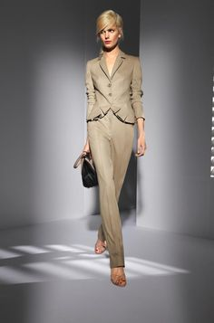 The working girl's neutral staple. Escada
