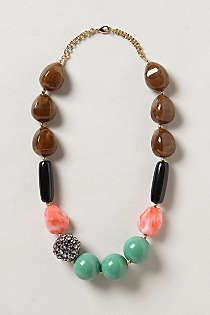 Anthro | Statement Necklace | love love love this!! Would go with everything.
