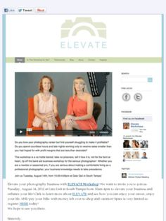 This is going to be an awesome #photography #business #workshop! www.elevate-workshops.com