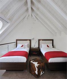 The Cambrian - Member of Design Hotels™ - Adelboden, Switzerland - 2007 - Peter Silling & Associates #interiors #design #warm #christmas #mountain #snow #children #room
