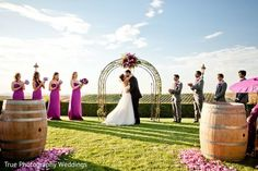 Winery ceremony