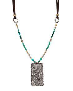 Cave Painting Necklace, Necklaces - Silpada Designs