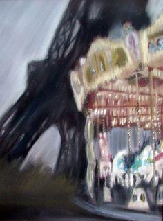 """""""the carousel"""" - Paris  #pastels"""