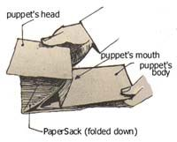 How to Make a Sack Puppet
