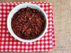Telita na Cozinha: pudim de chocolate com vinho do Porto e baunilha