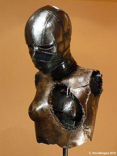 Metal Sculpture by Tim Roosen  www.novabelgica.com