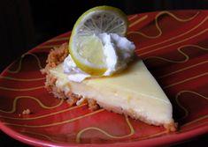 Double Citrus Key Lime Pie