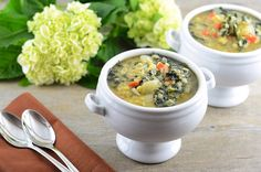 Kale and Lentil Soup...kale in soup is amazing!