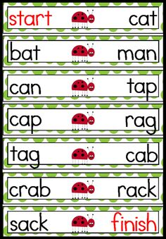 Race the Rhyme - Each strip is laid out randomly. Find the Start strip and then match the right hand word with its left hand pair and place underneath. Continue until 'Finish' ($) languag art