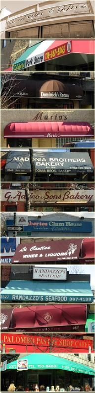 Madonia Bakery on Arthur Ave - great biscotti