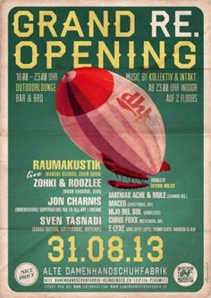 Grand Reopening Flyers