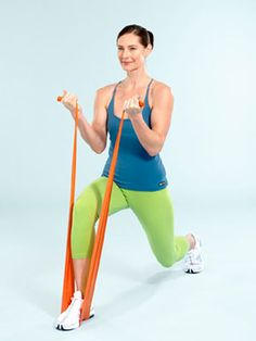 You can spice up your power walk or gym regimen without breaking the bank. For under $10, you can purchase a resistance band — and get a total body workout that will build muscle, burn fat, and strengthen bones. #fitness #workout