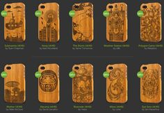 bamboo iphone cases